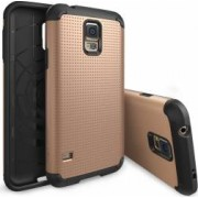 Skin Ringke Eco Armor Max Dot Samsung Galaxy S5 G900 Copper Gold + Folie