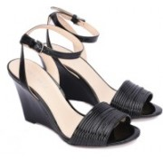 Nine West Women BLACK/BLACK Wedges