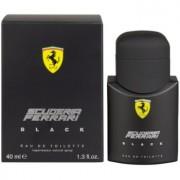Ferrari Scuderia Ferrari Black Eau de Toilette para homens 40 ml