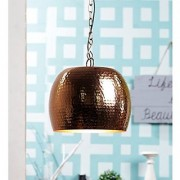 The Light Store Steel Pendant - Brown 40 W