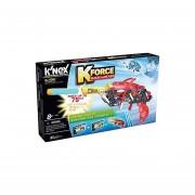 Set De Construcción Lanza Dardos Knex Kforce-Rojo