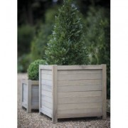 "Trendyard Houten Plantenbak ""Spruce"" Vierkant 60 CM"