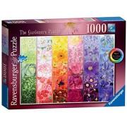 Ravensburger The Gardener's Palette No. 1 - Cottage Garden, 1000Pc Jigsaw Puzzle