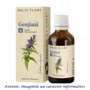 Tinctura de Gentiana 50 ml Dacia Plant