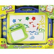 Number 1 in Gadgets Jumbo Color Doodle Drawing Board Set with Super Bonus Smaller Board-Colors may vary