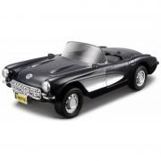 Maisto Schaalmodel Chevrolet Corvette cabrio 1:32 zwart