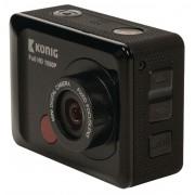 Knig Full HD Action Cam 1080p Waterdichte Behuizing Zwart