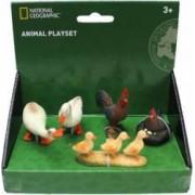 Set 5 figurine National Geographic Pasari de la ferma