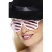 Ochelari petrecere grilaj roz