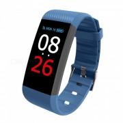 R11 IP67 impermeable pantalla tactil Bluetooth inteligente brazalete de fitness pulsera - azul