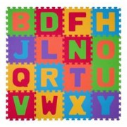 Puzzle pentru podea copii- 16 buc - litere 280 Babyono