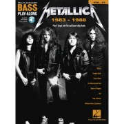 Hal Leonard - Bass Play-Along Volume 31: Metallica 1983-1988