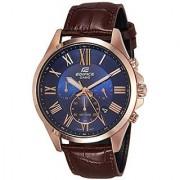 Casio Analog Blue Round Watch - EFV-500GL-2AVUDF (EX347)