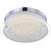 Plafonier elegant diam.36cm, cristale K5, LED Leah 49315 GL