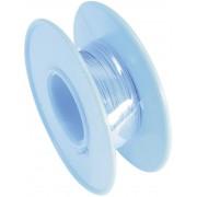 Cablu pentru conexiuni infasurate Wire-Wrap, 1 x 0.08 mm², albastru, 15 m, AWG 28