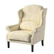 Dekoria Fotel Unique, ecru, 85 × 107 cm, Damasco