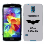 Husa Samsung Galaxy S5 Mini G800F Silicon Gel Tpu Model Batman