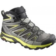 Salomon X ULTRA 3 MID GTX® Waterproof Hiking & Trekking Shoes For Men(Grey)