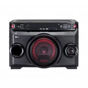 Minicomponente Lg OM4560 Bluetooth Karaoke Usb 2500W Auto Dj-Negro