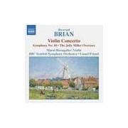 CD Violin Concerto Symphony N 18 The Jolly Miller Overture (Importado)