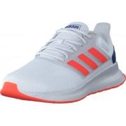 adidas Sport Performance Runfalcon Ftwr White/solar Red/dash Grey, Skor, Sneakers och Träningsskor, Löparskor, Vit, Unisex, 45