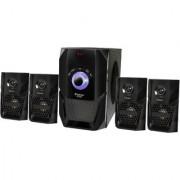 Zeston ZX5050 Home Theatre System Audio Speaker(Black 4.1 Channel)