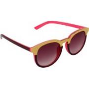 Eccellente Rectangular Sunglasses(Pink)