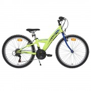 Детско колело Cross Rocky 24'' зелено