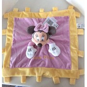 Disney Parks Baby Minnie Mouse Mini Blanket Security Blanky Plush Doll NEW