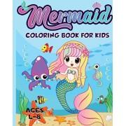 Mermaid Coloring Book for Kids Ages 4-8: 40 Unique and Beautiful Mermaid Coloring Pages (Children's Books Gift Ideas), Paperback/Amazing Activity Press