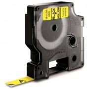 Dymo Standard D1 Tejp 9mm Svart på gult