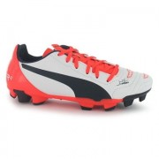 Puma voetbalschoenen EvoPower 3.2 FG Jr wit mt 37