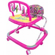Oh Baby Baby Adjustable Musical Walker With Pink Color For Your Kids SE-W-67