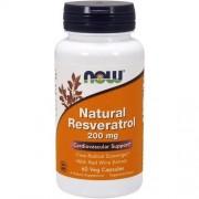 Now Foods Resveratrol 200mg 60v-caps