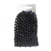 Trisa - Bentita de par dantelata negru