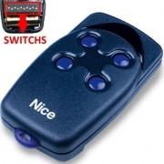 Telecomanda NICE FLO4 cu dip-switch