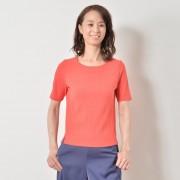 NbyA 大人のリブコンビプルオーバー【QVC】40代・50代レディースファッション