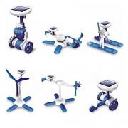 Aditya Info 6 in 1 Educational Solar Power Energy Robot KIT - Series -2
