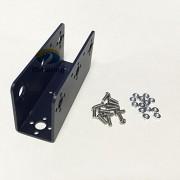 Generic Black : Official iSmaring U Beam U-type Steering Gear Bracket Biped Robot Mechanical Arm Frame Stent for Manipulator Robotic Arm Robot