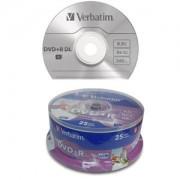 DVD+R Verbatim, na štapu
