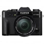 Fujifilm X-T20 Aparat Foto Mirrorless 24MP Kit cu Obiectiv XC 16-50 F/3.5-5.6 OIS II Negru