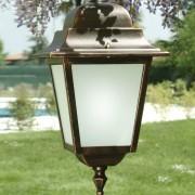 LIBERTI LAMP linea GARDEN Athena Grande Lampada A Sospensione Quadrata Illumunazione Esterno Giardino