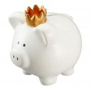 Geen Witte varken spaarpot/spaarvarken 15 cm - Action products