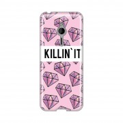 Silikonska-futrola-PRINT-za-Nokia-Asha-230-Killin-it-Pink