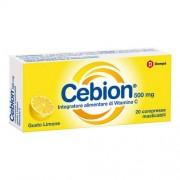 Dompe' Farmaceutici Spa Cebion Masticabile Limone Vitamina C 20 Compresse