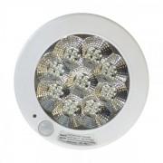 Plafoniera 36 LED 5W Alb Rece cu Senzor de Miscare 22cm 220V