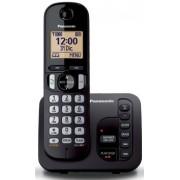 Bežični telefon Panasonic KX-TGC220FXB, crni (sa sekretaricom)