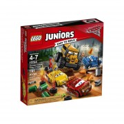 CARRERA CRAZY 8 EN THUNDER HOLLOW LEGO 10744