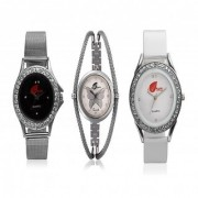 Arum Combo Of Three Watches For Women AW-011