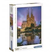 Puzzle 500 Barcelona Sagrada Familia - Clementoni